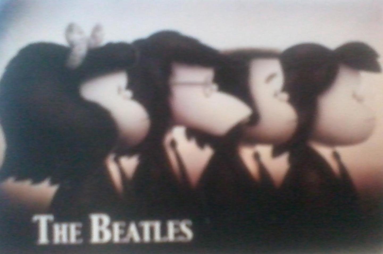 Mafalda Beatles. foto: minha.