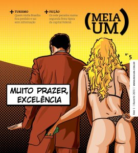 Capa da meiaum deste mês, por Cícero Lopes.
